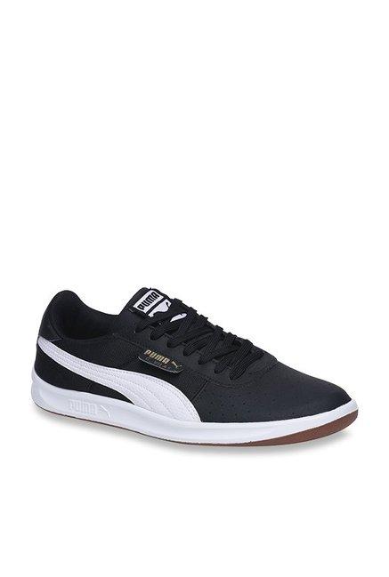 Buy Puma G Vilas 2 Core IDP H2T Black   White Sneakers for Men at Best  Price   Tata CLiQ 33125c4de