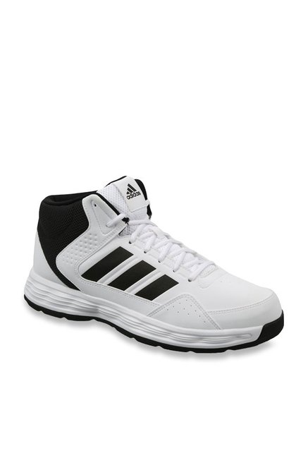 094f43eba65b Buy Adidas Jamslam White Basketball Shoes for Men at Best Price   Tata CLiQ
