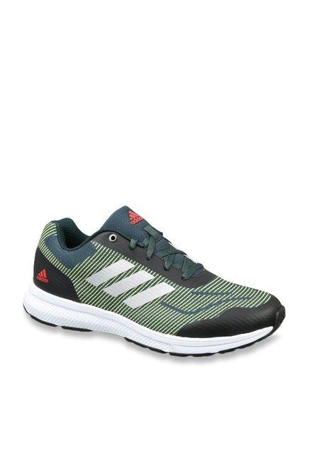 0b1c133887cc Buy Adidas Raddis Black   Green Running Shoes for Men at Best Price   Tata  CLiQ