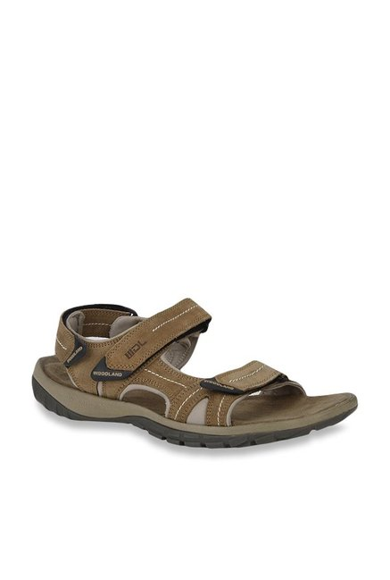 751aecb28f91 Buy Woodland Camel Floater Sandals for Men at Best Price   Tata CLiQ