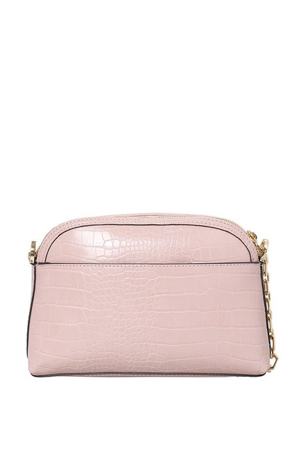 eafe1ec113bb Buy Jennifer Lopez Max Mini Pink Textured Sling Bag For Women At ...