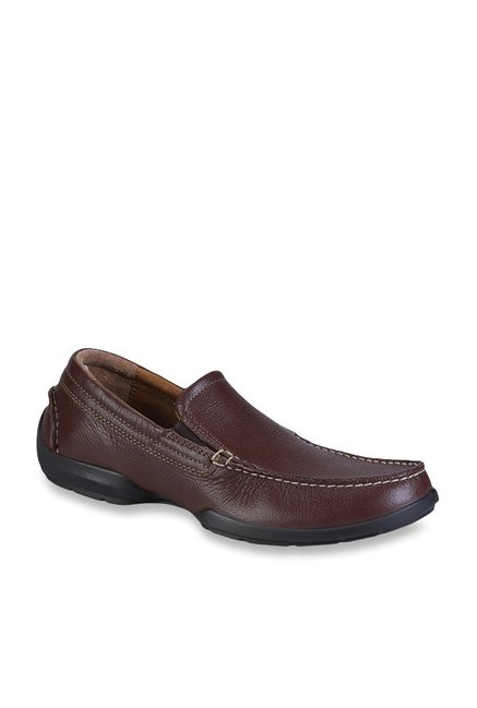 15a0f190b66 Buy Woodland Brown Casual Loafers for Men at Best Price   Tata CLiQ