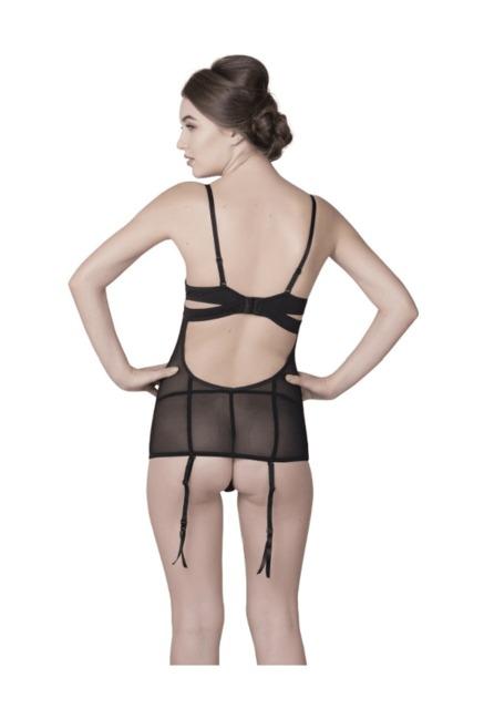 d383ee5b09433 Buy Be Mine by Lingerie Shop Black Polyamide Shapewear for Women ...