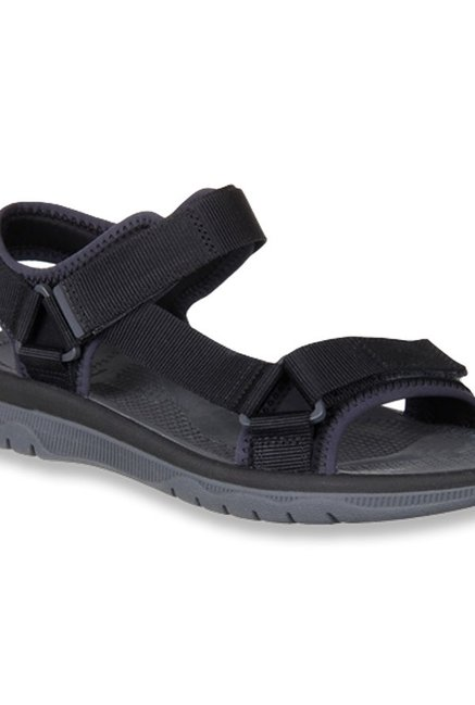 549573d956dd Buy Clarks Balta Reef Black Floater Sandals for Men at Best Price ...
