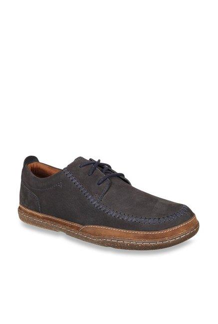 hübsch und bunt überlegene Leistung großer Rabatt Buy Clarks Trapell Apron Navy Derby Shoes for Men at Best ...