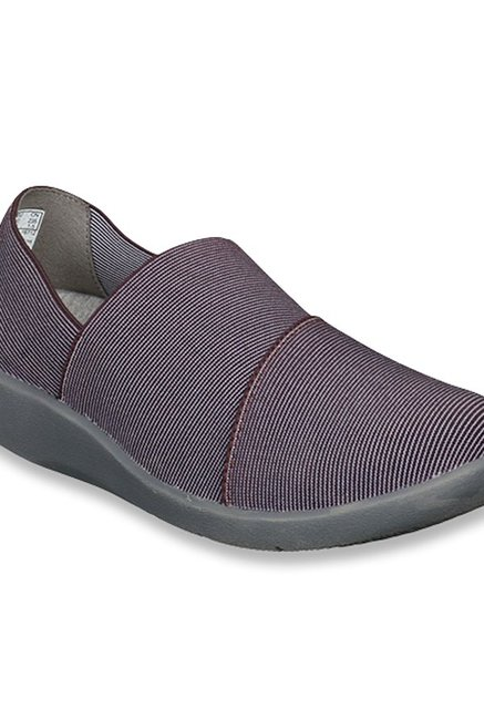 Buy Clarks Sillian Firn Wine Casual Shoes for Women at Best