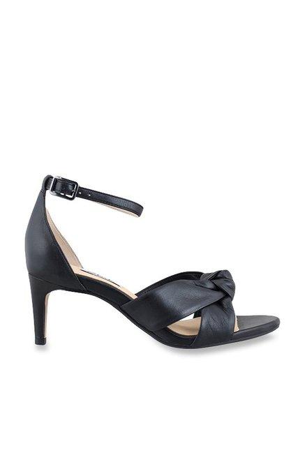 3abb14eff0b Buy Clarks Amali Tulip Black Ankle Strap Stilettos for Women at Best ...