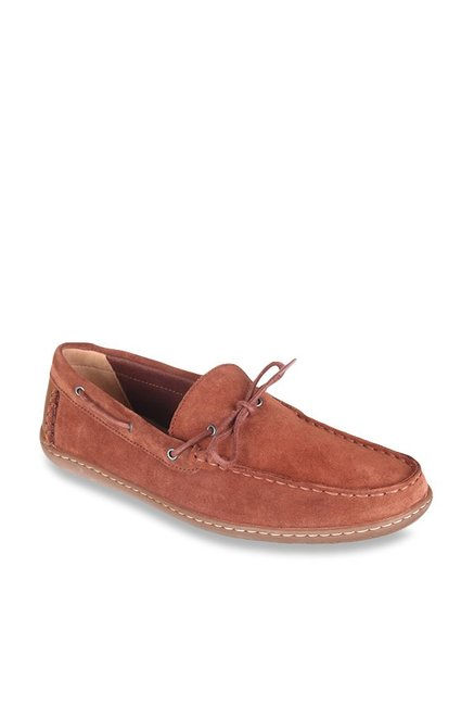 46d1f9103 Buy Clarks Saltash Edge Tan Boat Shoes for Women at Best Price   Tata CLiQ