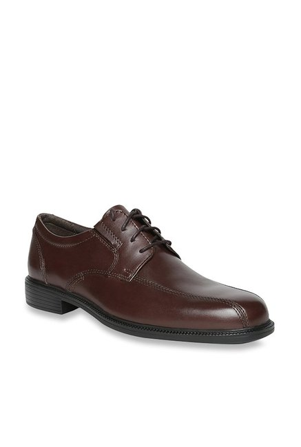 Buy Clarks Bardwell Walk Brown Derby Shoes for Men at Best Price   Tata CLiQ beed6aaf44d4