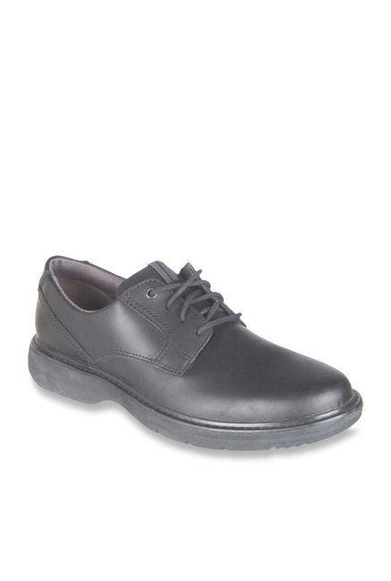 in stock undefeated x buy good Buy Clarks Cushox Pace Black Derby Shoes for Men at Best ...