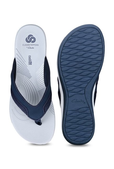 77baa4d55963 Buy Clarks Arla Marina Navy Thong Sandals for Women at Best Price ...
