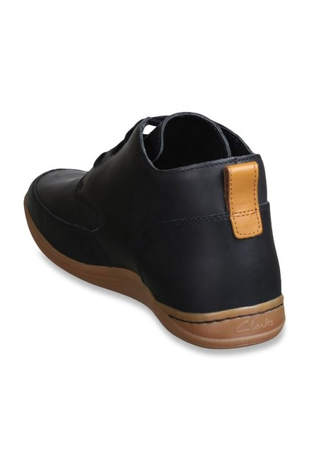 1b2e912f Buy Clarks Mapped Hi Black Derby Boots for Men at Best Price @ Tata CLiQ