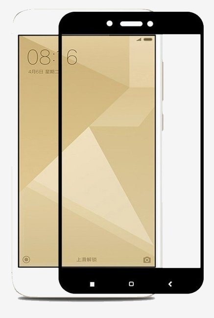 Parallel Universe Tempered Glass Screen Protector For Xiaomi Redmi 5A  Black