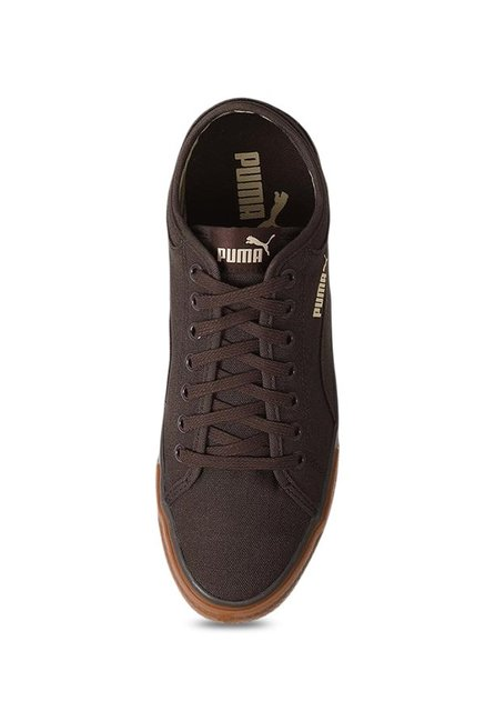 4b560a7032687a Buy Puma Yale Gum Solid CO IDP Dark Brown Sneakers for Men at Best ...