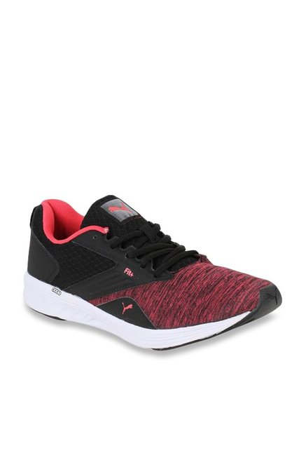 be65e920bde610 Buy Puma Comet IPD Red   Black Running Shoes for Women at Best Price   Tata  CLiQ