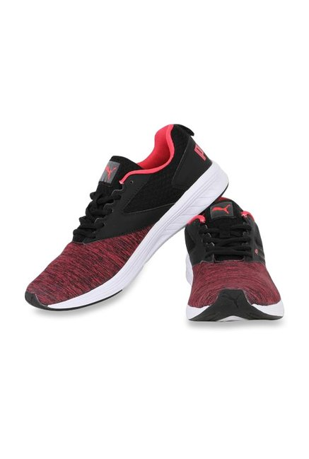 f6128183bb7884 Buy Puma Comet IPD Red   Black Running Shoes for Women at Best Price ...