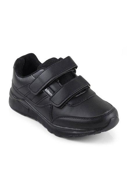 Buy Kittens Kids Black Velcro School Shoes For Kids Online At Tata CLiQ d5885dffd