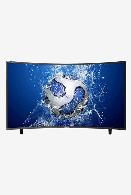 Mitashi MiCE050v34 4KS 123.19 cm  48.5 Inch  Ultra HD 4K Smart Curved LED TV  Black