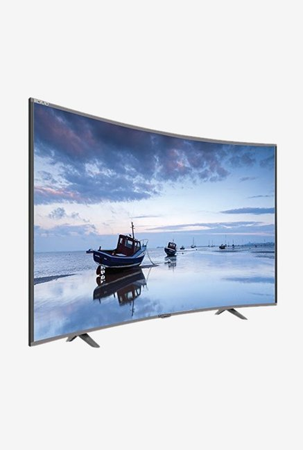 Mitashi 32 Inches HD Ready LED Curved TV (MICE032V30, Grey)
