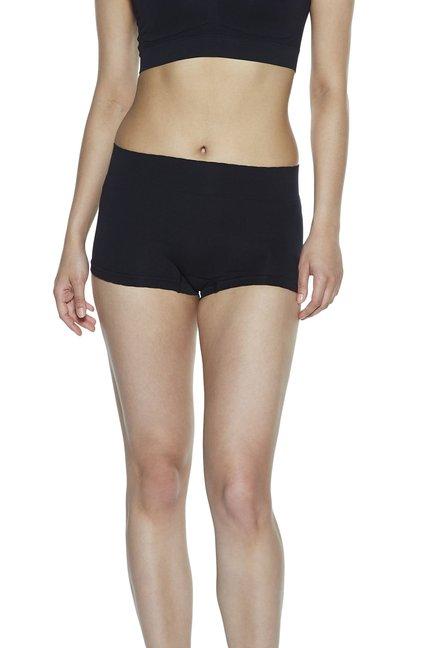 5ba212779 Wunderlove by Westside Black High-Waist Seam-Free Boy Shorts