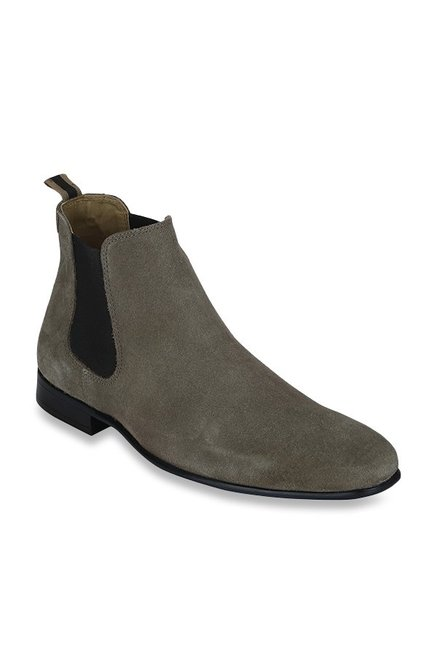 dbae3e37093 Buy Red Tape Grey Chelsea Boots for Men at Best Price @ Tata CLiQ