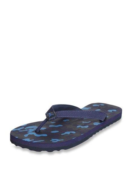 61128e48ac85 Buy Puma Tide Camo IDP Navy Blue Flip Flops for Men at Best Price ...