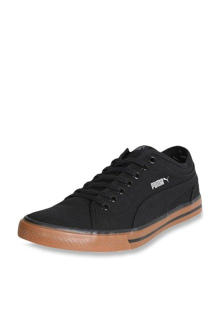 13951d9f0090ba Buy Puma Yale Gum Solid CO IDP Black Sneakers for Men at Best Price   Tata  CLiQ