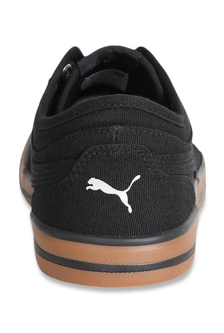 e0414a9f81fd1b Buy Puma Yale Gum Solid CO IDP Black Sneakers for Men at Best Price ...