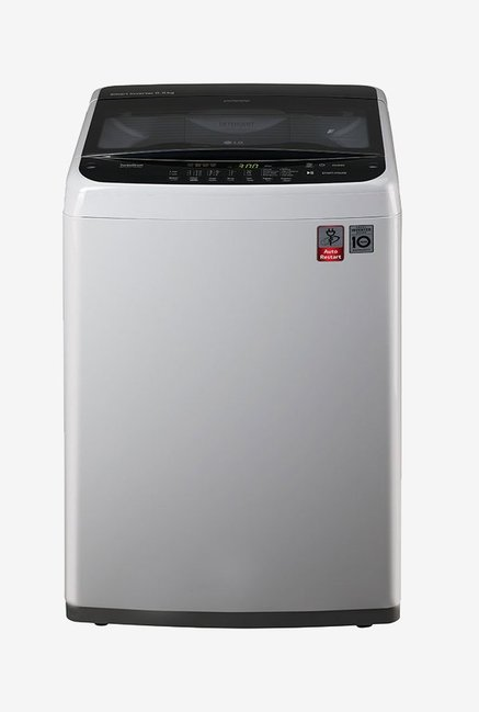 LG T7588NDDLE 6.5 kg Top Loading Fully Automatic Washing Machine (Middle Free Silver)