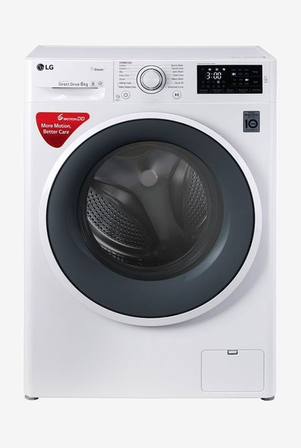 LG 6.0 kg Fully Automatic Front Load Washing Machine White(FHT1006SNW)