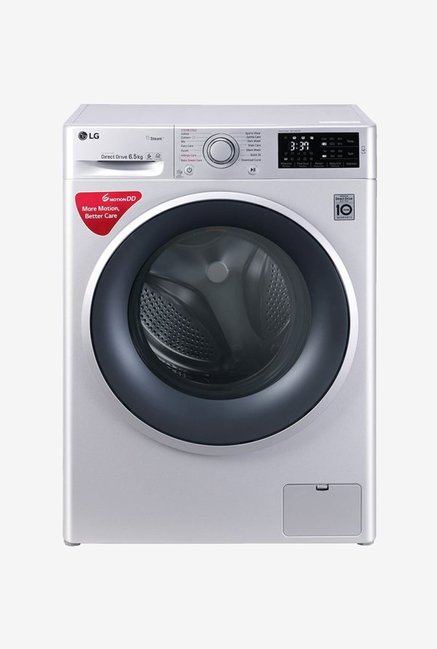 LG FHT1065SNL 6.5 kg Front Loading Fully Automatic Washing Machine (Luxury Silver)