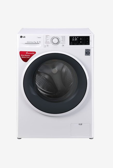 LG FHT1007SNW 7 kg Front Loading Fully Automatic Washing Machine (Blue White)