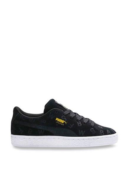 95b191573f Buy Puma Kids JL Suede AOP Jr Batman Black Sneakers for Boys at Best ...