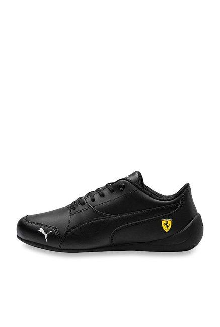 huge selection of 66598 ca316 Puma Kids Ferrari SF Drift Cat 7 Jr Black Sneakers