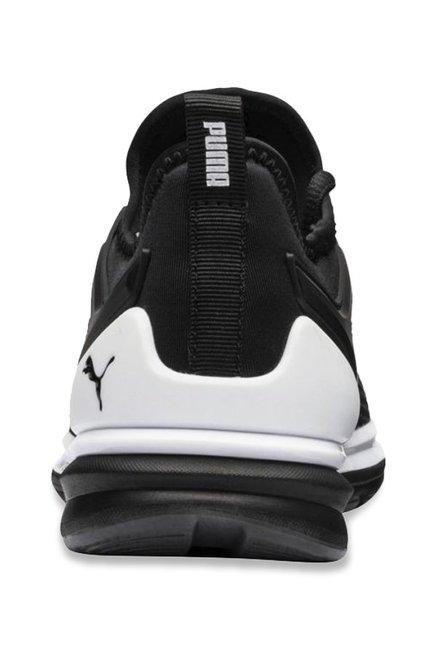 buy online 61d22 4f086 Buy Puma Kids Ignite Limitless 2 Jr Black Sneakers for Boys ...
