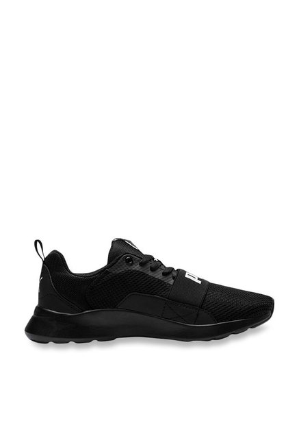 Buy Puma Kids Wired PS Black Sneakers for Boys at Best Price ... 983b180248