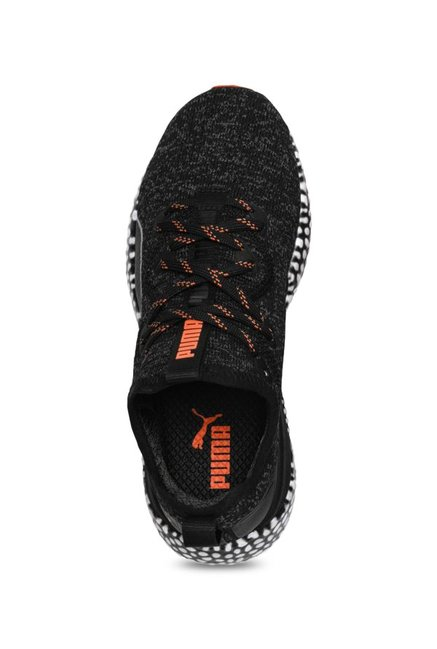 4be5ac6c91 Buy Puma Kids Hybrid Runner Jr Black Running Shoes for Boys at Best ...