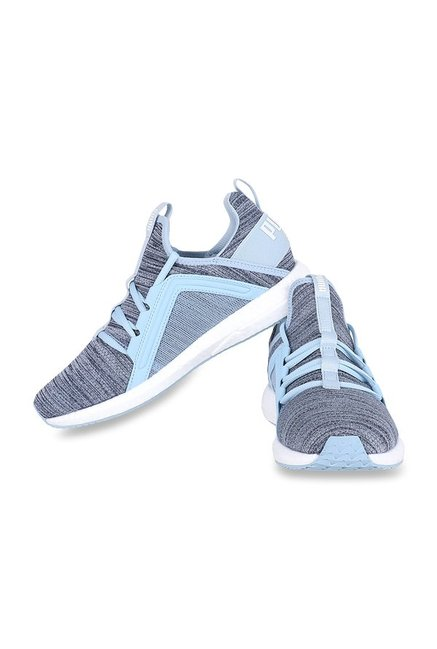 ffc837217c3 Buy Puma Mega NRGY Heather Knit Cerulean Blue Running Shoes for ...