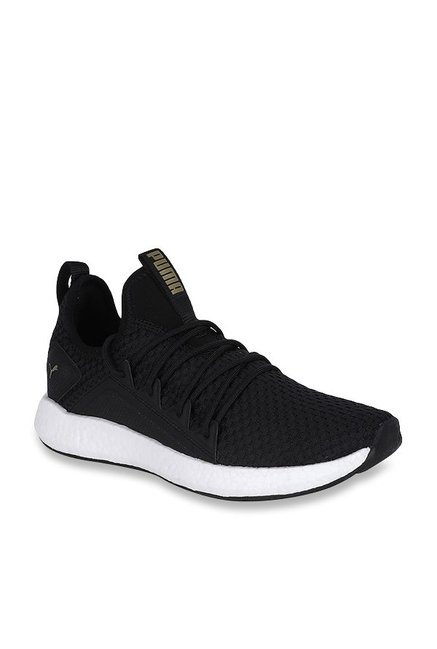 1bd6ef8dcdd77e Buy Puma NRGY Neko VT Black Running Shoes for Women at Best Price   Tata  CLiQ