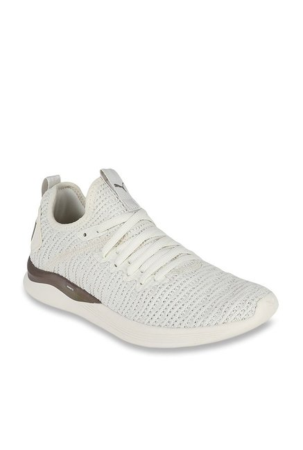 4e47031159 Buy Puma Ignite Flash Luxe Whisper White Running Shoes for Women at ...