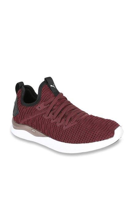 Buy Puma Ignite Flash Luxe Purple Running Shoes for Women at Best Price   Tata  CLiQ eabdf4f85