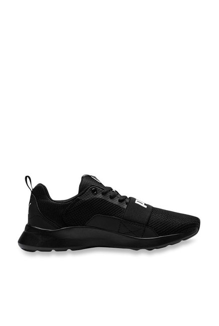 Buy Puma Kids Wired Jr Black Sneakers for Boys at Best Price   Tata ... 187fcc192