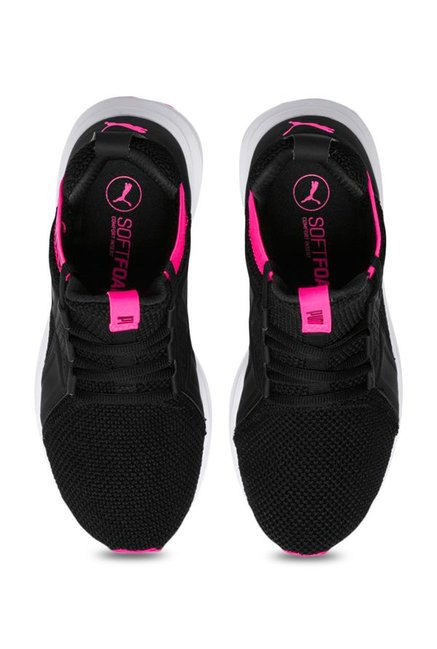 f0b185f7c1f Buy Puma Enzo Weave Black Training Shoes for Women at Best Price ...