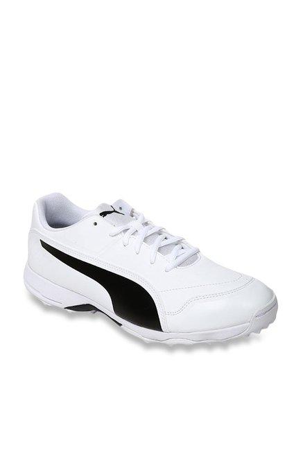 52626fc5 Puma evoSPEED One8 R White Cricket Shoes