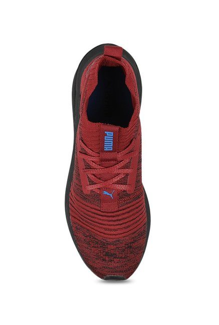 Buy Puma Ignite Limitless SR evoKNIT Pomegranate Running Shoes for ... 158cba605