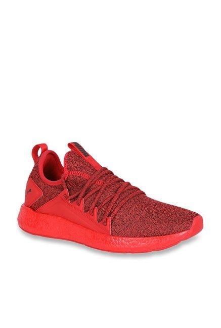 4bca6deaf Buy Puma NRGY Neko Knit High Risk Red Running Shoes for Men at Best Price @  Tata CLiQ