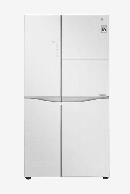 Buy Lg Gc C247uglw 675 L Side By Side Door Refrigerator Online At