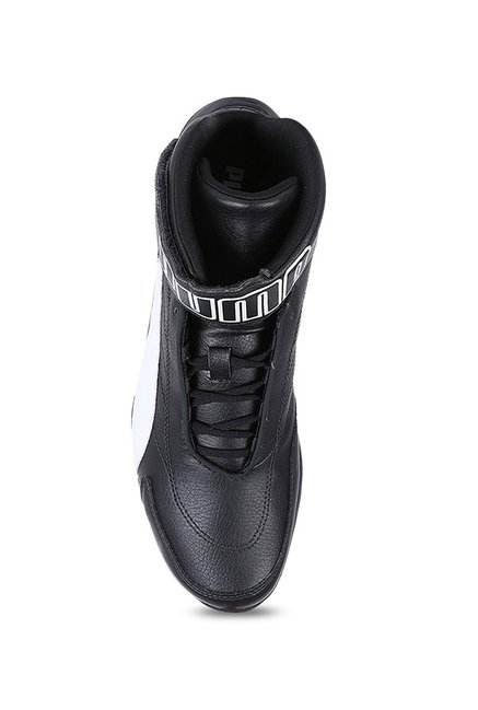 183a1c00233 Buy Puma BMW MMS Kart Cat Mid III Black Ankle High Sneakers for Men ...