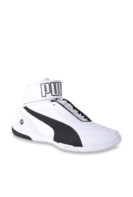 b484bfc93f1d Buy Puma BMW MMS Kart Cat Mid III White Ankle High Sneakers for Men at Best  Price   Tata CLiQ