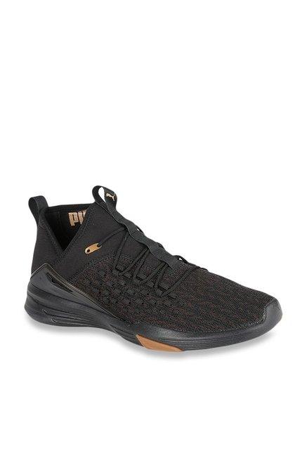 fb82149244bd Buy Puma Mantra Fusefit Desert Black Training Shoes for Men at Best Price @  Tata CLiQ